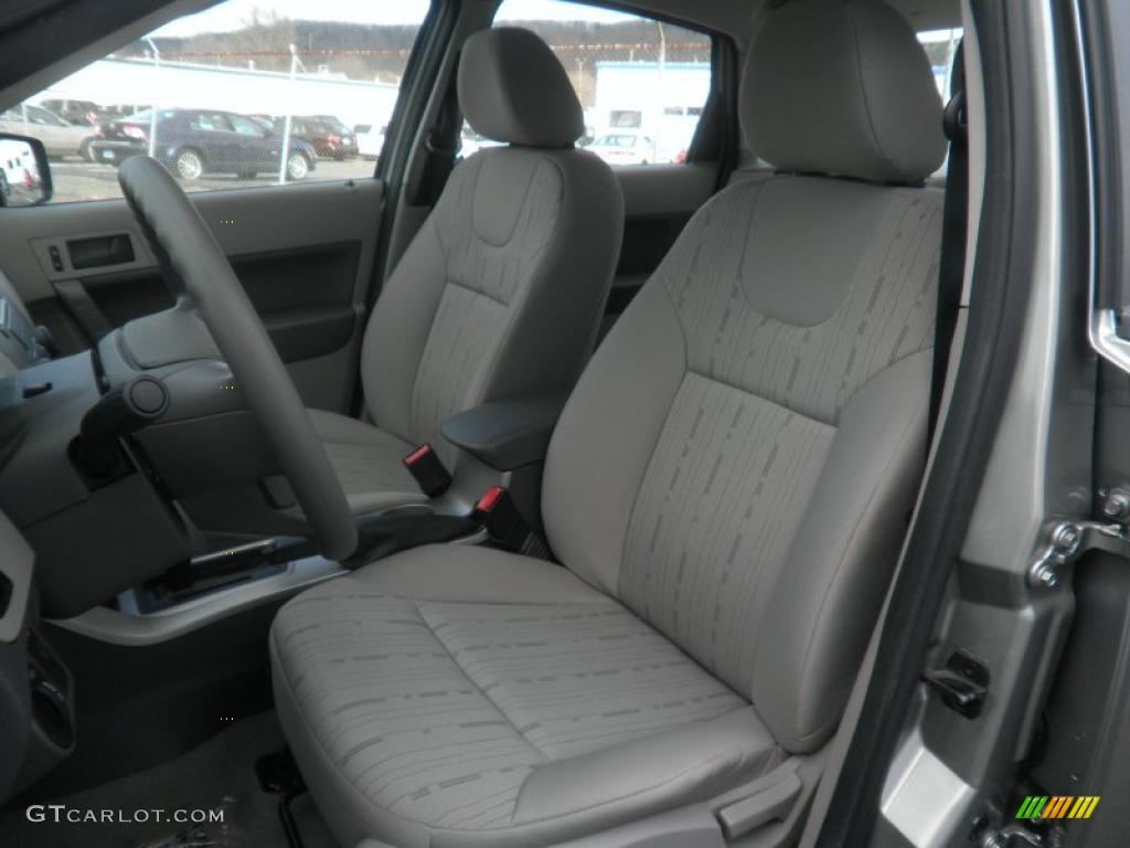 Medium Stone Interior 2008 Ford Focus Se Sedan Photo 41465520