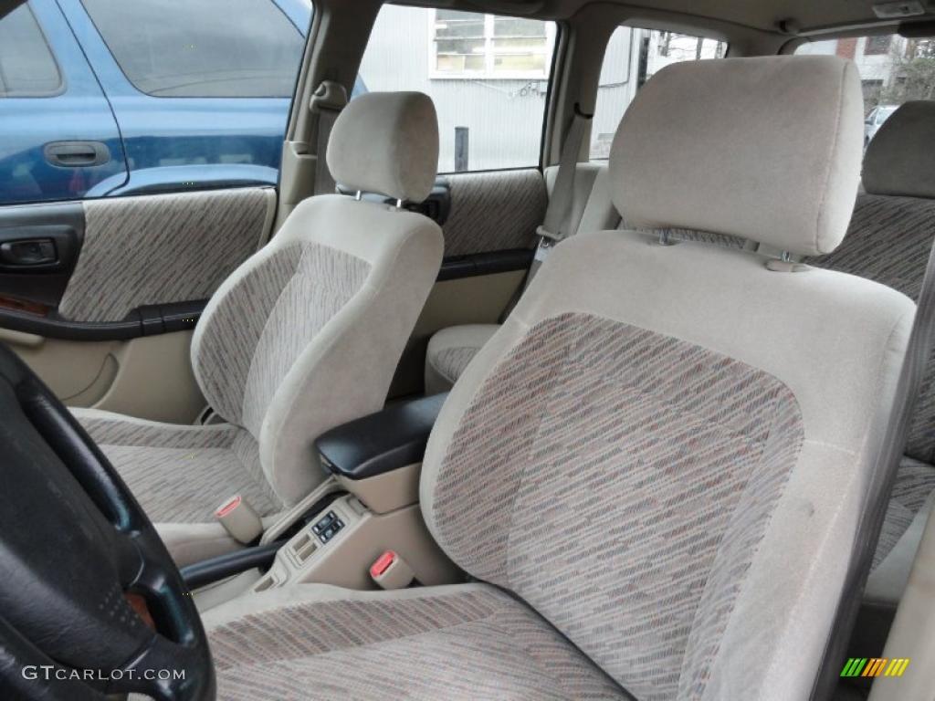 2000 Subaru Forester 2 5 S Interior Photo 41466706