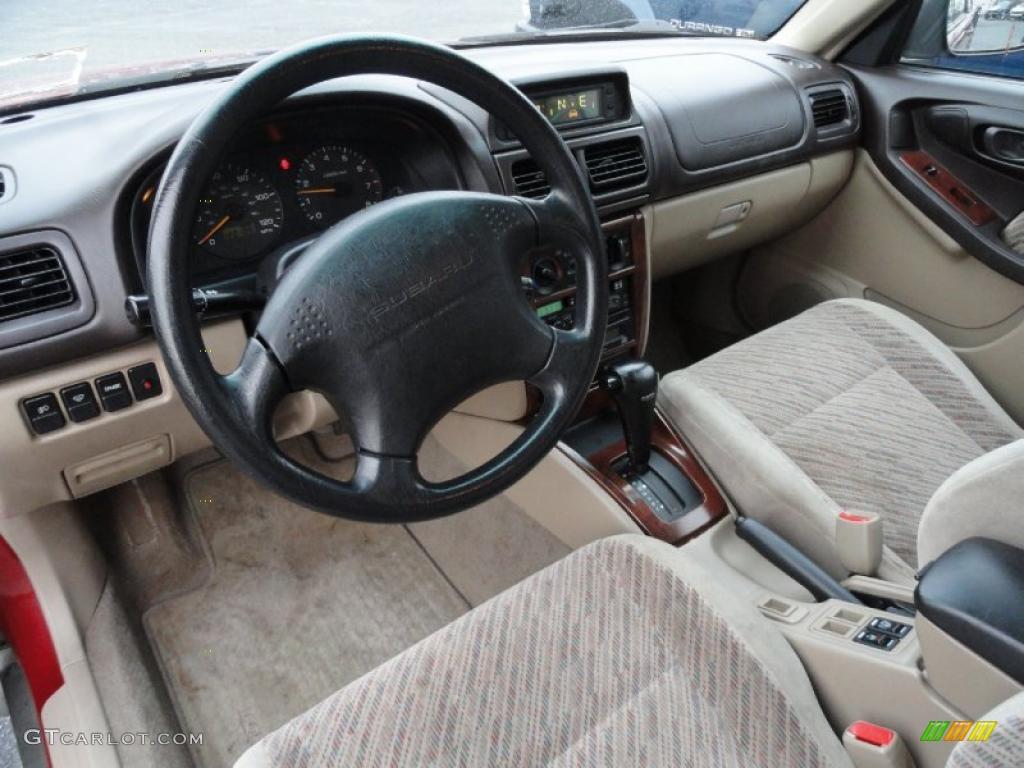 Beige Interior 2000 Subaru Forester 2 5 S Photo 41466734