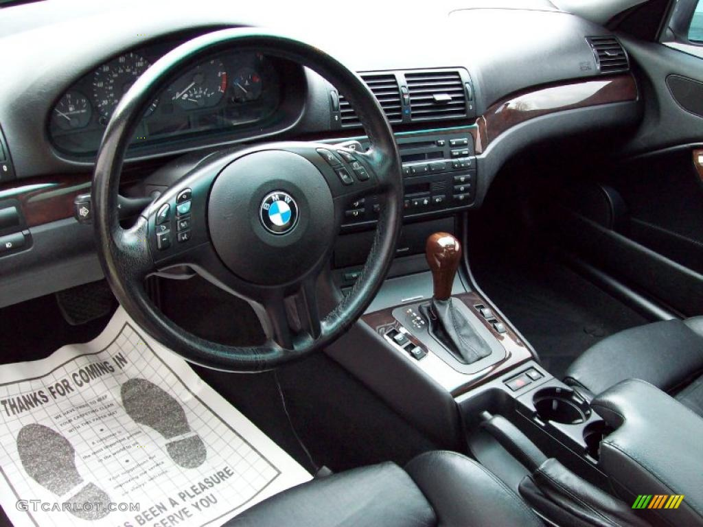 Black Interior 2002 Bmw 3 Series 325i Coupe Photo