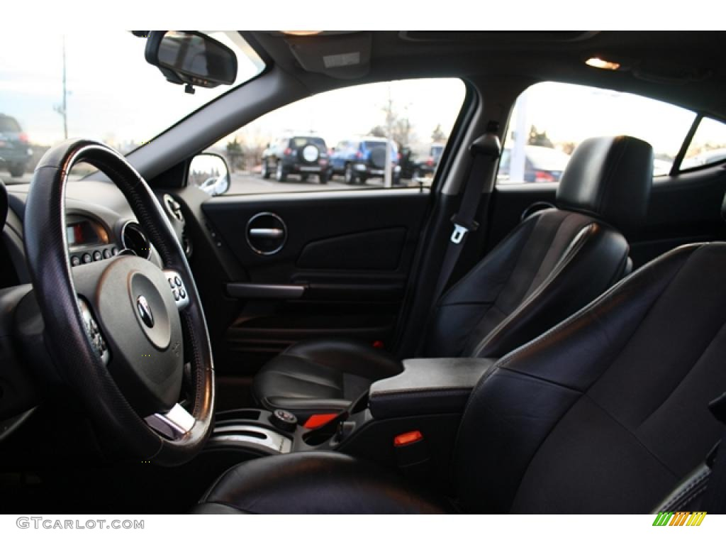 2008 Pontiac Grand Prix GXP Sedan interior Photo #41470143 ...