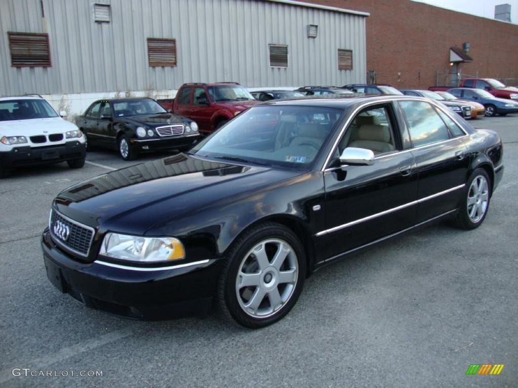 Brilliant Black 2002 Audi S8 4 2 Quattro Exterior Photo