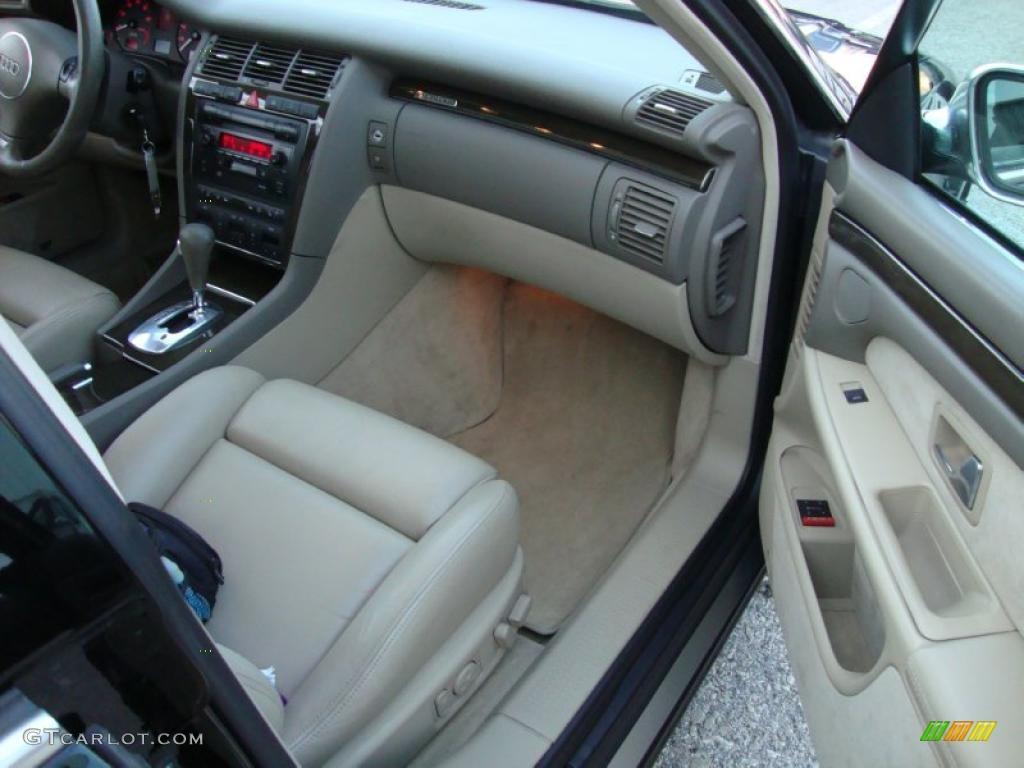 Ecru interior 2002 audi s8 4 2 quattro photo 41471439