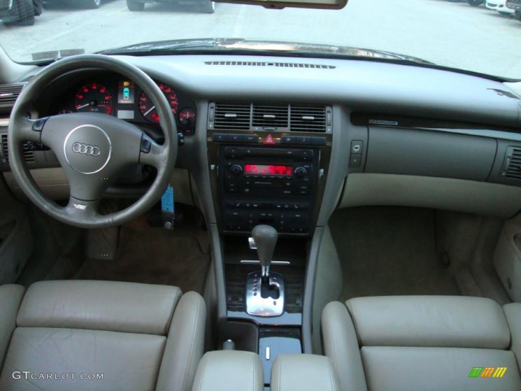 Ecru interior 2002 audi s8 4 2 quattro photo 41471599