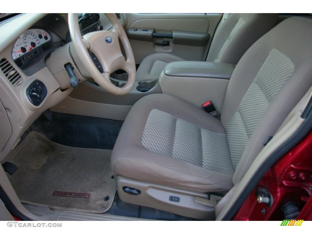 Medium pebble interior 2005 ford explorer sport trac xlt - Ford explorer sport trac interior parts ...
