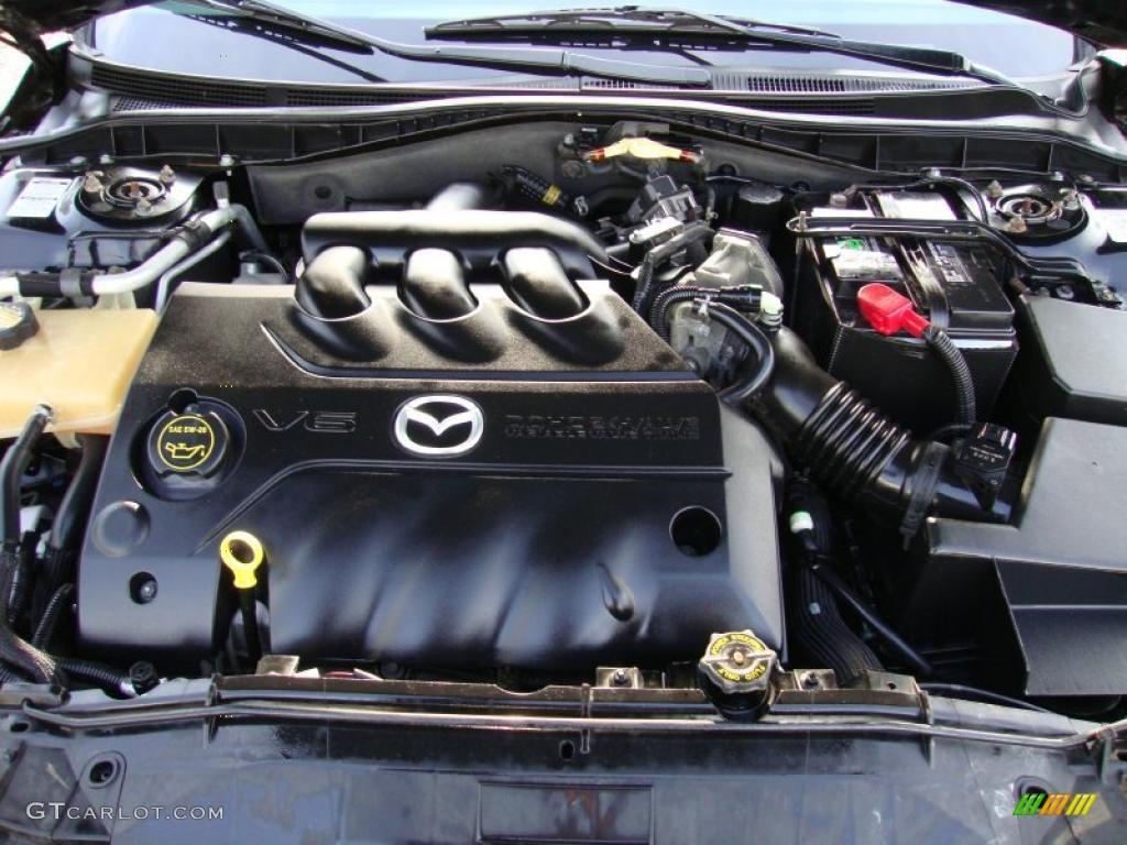 Мазда 6 2005 двигатель