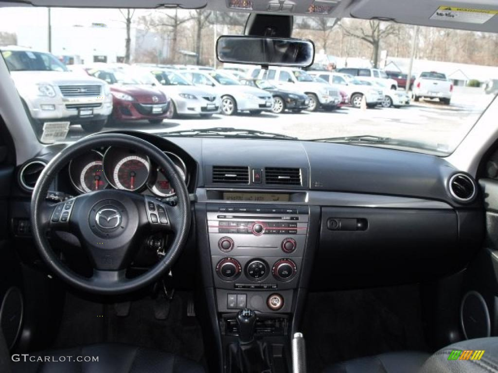 2007 mazda mazda3 s grand touring sedan dashboard photos. Black Bedroom Furniture Sets. Home Design Ideas