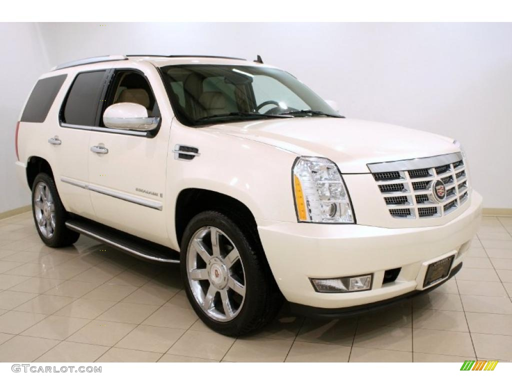 2009 white diamond cadillac escalade 41460186 car color galleries. Black Bedroom Furniture Sets. Home Design Ideas