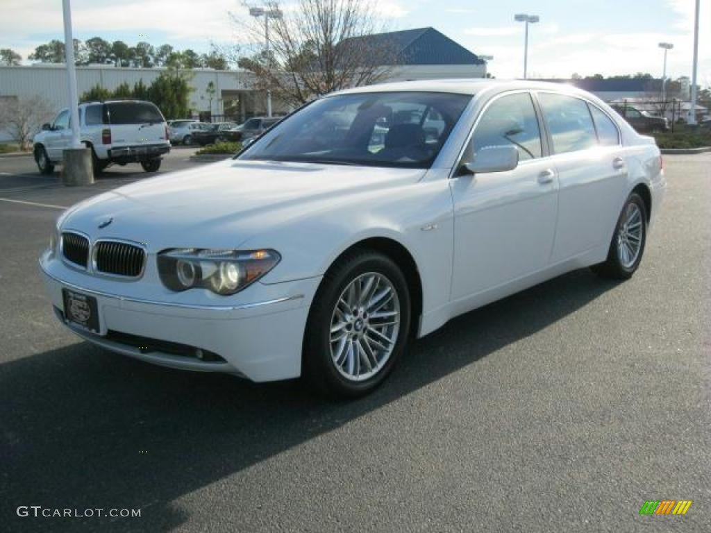Alpine White 2005 BMW 7 Series 745Li Sedan Exterior Photo 41494039