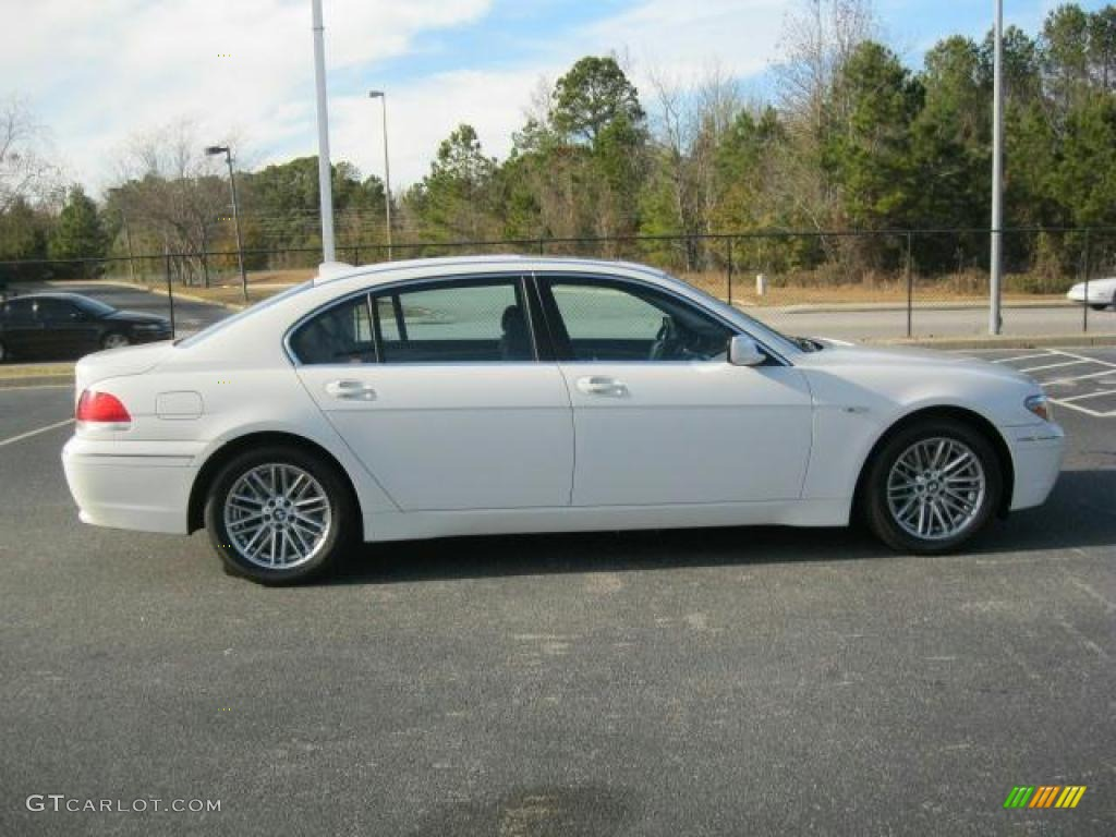 Alpine White 2005 BMW 7 Series 745Li Sedan Exterior Photo 41494055