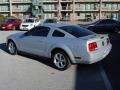 2007 Satin Silver Metallic Ford Mustang V6 Premium Coupe  photo #3