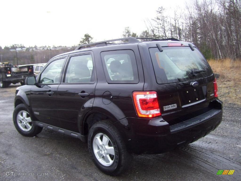 Black 2008 Ford Escape Xls 4wd Exterior Photo 41504978