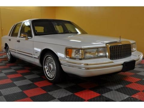 1994 Lincoln Town Car Cartier Prices