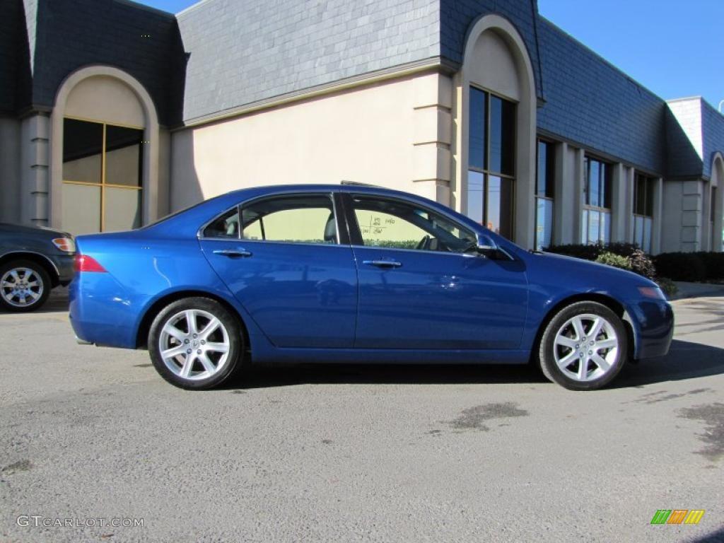 Arctic Blue Pearl 2004 Acura TSX Sedan Exterior Photo #41513085   GTCarLot.com