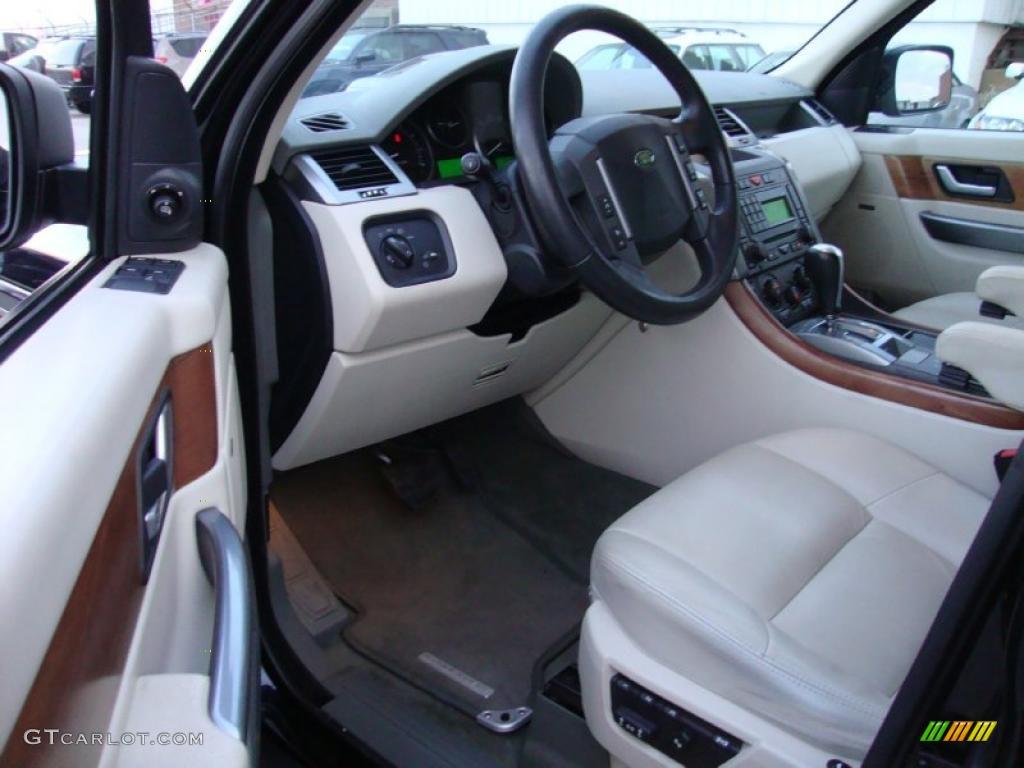 ivory interior 2006 land rover range rover sport hse photo 41516161. Black Bedroom Furniture Sets. Home Design Ideas