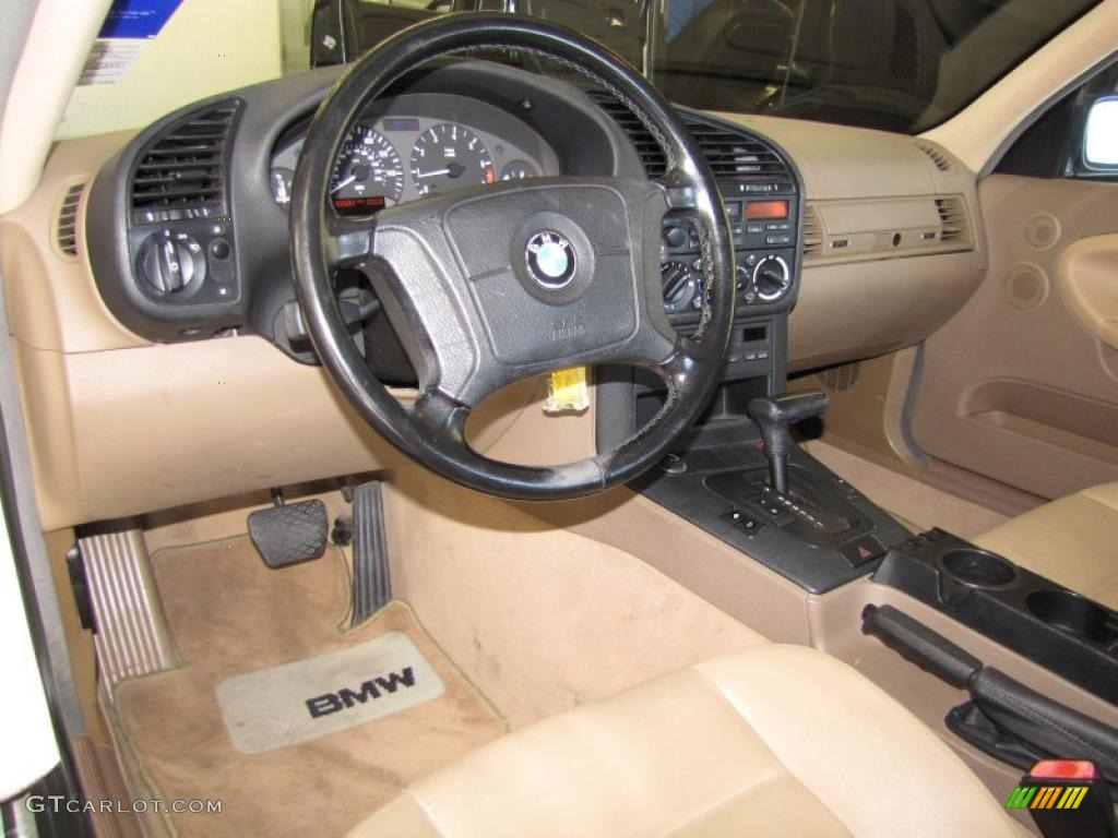 Beige Interior 1995 BMW 3 Series 318is Coupe Photo ...