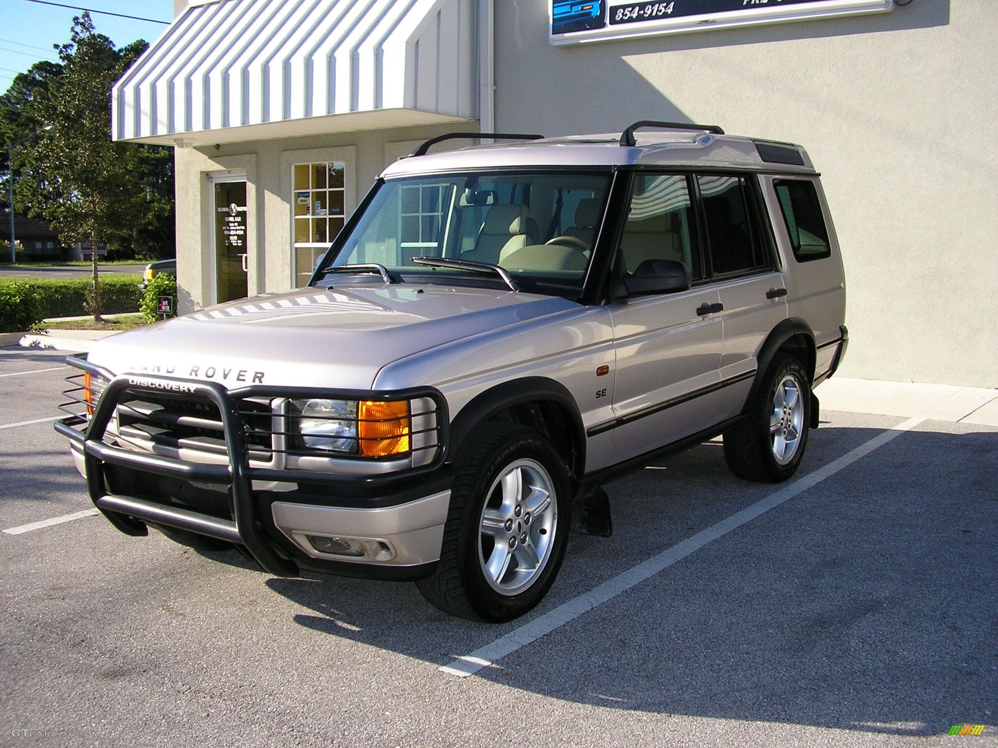 2001 White Gold Pearl Metallic Land Rover Discovery Ii Se 41524 Car Color