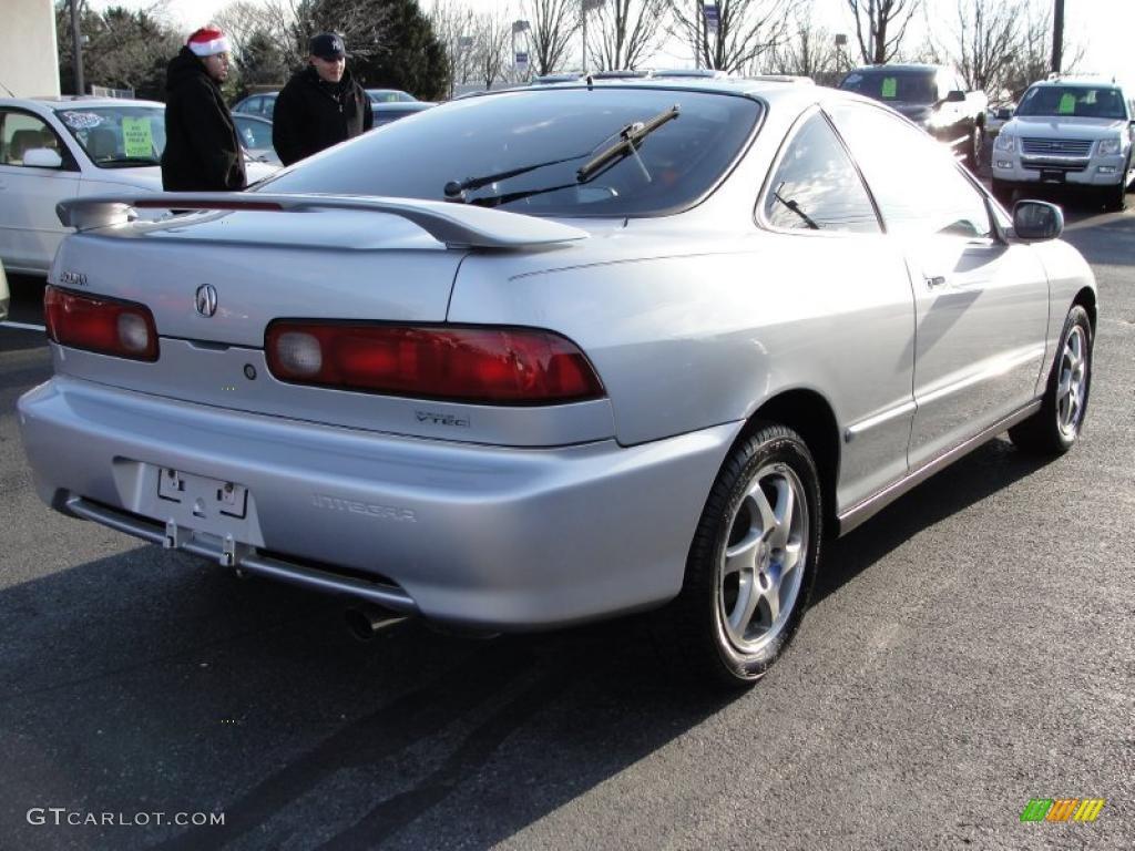 Satin Silver Metallic 2001 Acura Integra GS-R Coupe Exterior Photo #41526517 | GTCarLot.com
