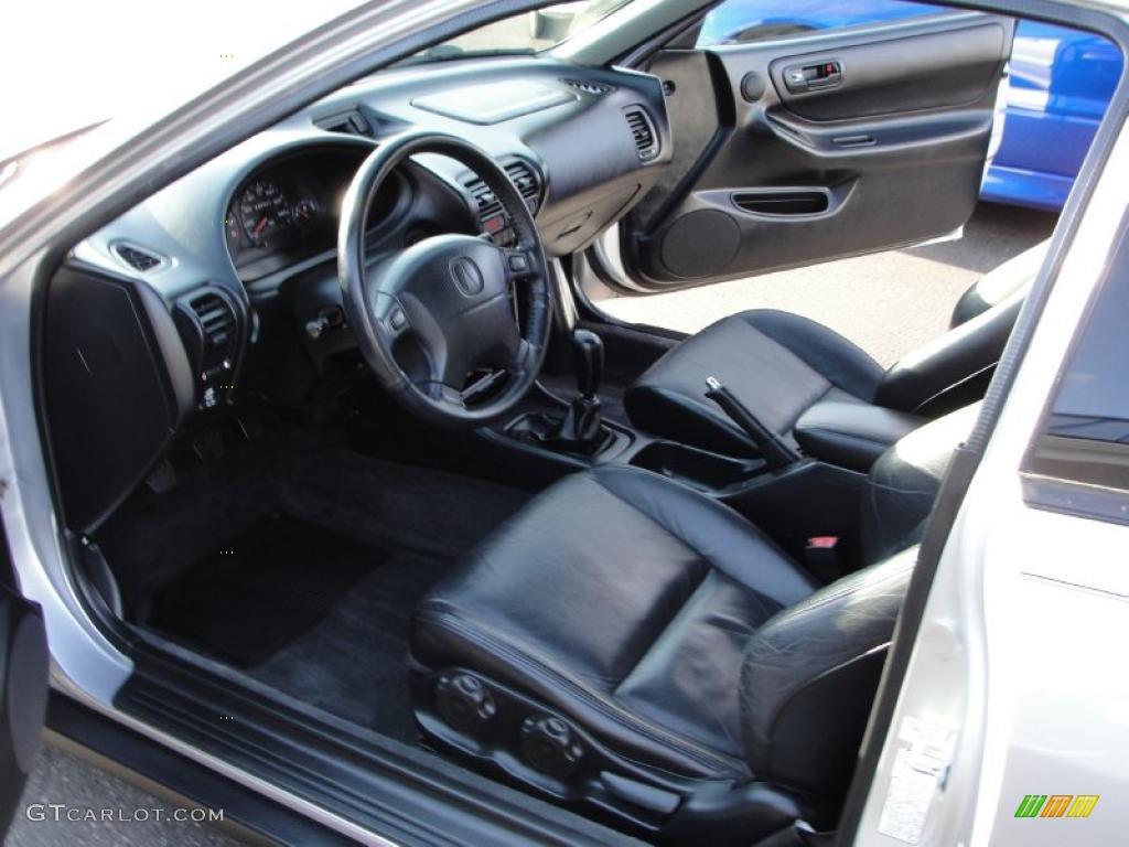 Ebony Interior 2001 Acura Integra Gs R Coupe Photo 41526533