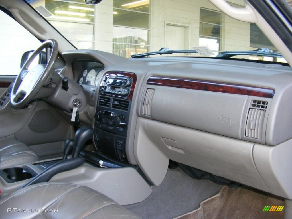 dark slate gray interior 2002 jeep grand cherokee limited 4x4 photo 41528325. Black Bedroom Furniture Sets. Home Design Ideas