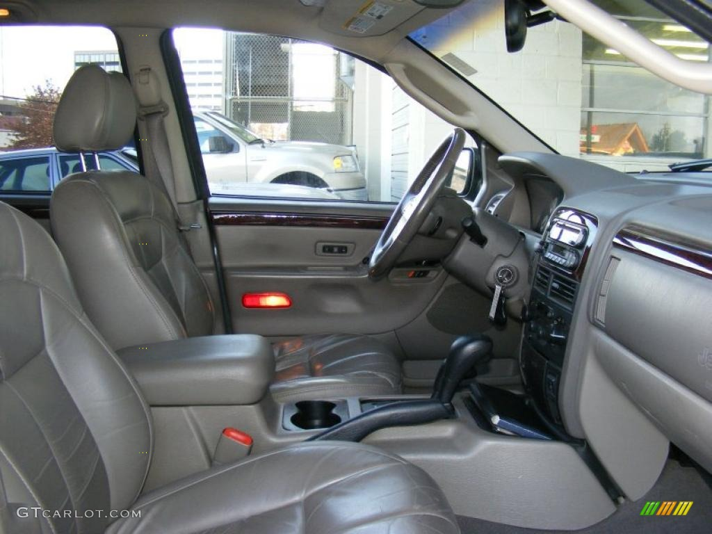 dark slate gray interior 2002 jeep grand cherokee limited 4x4 photo 41528353. Black Bedroom Furniture Sets. Home Design Ideas