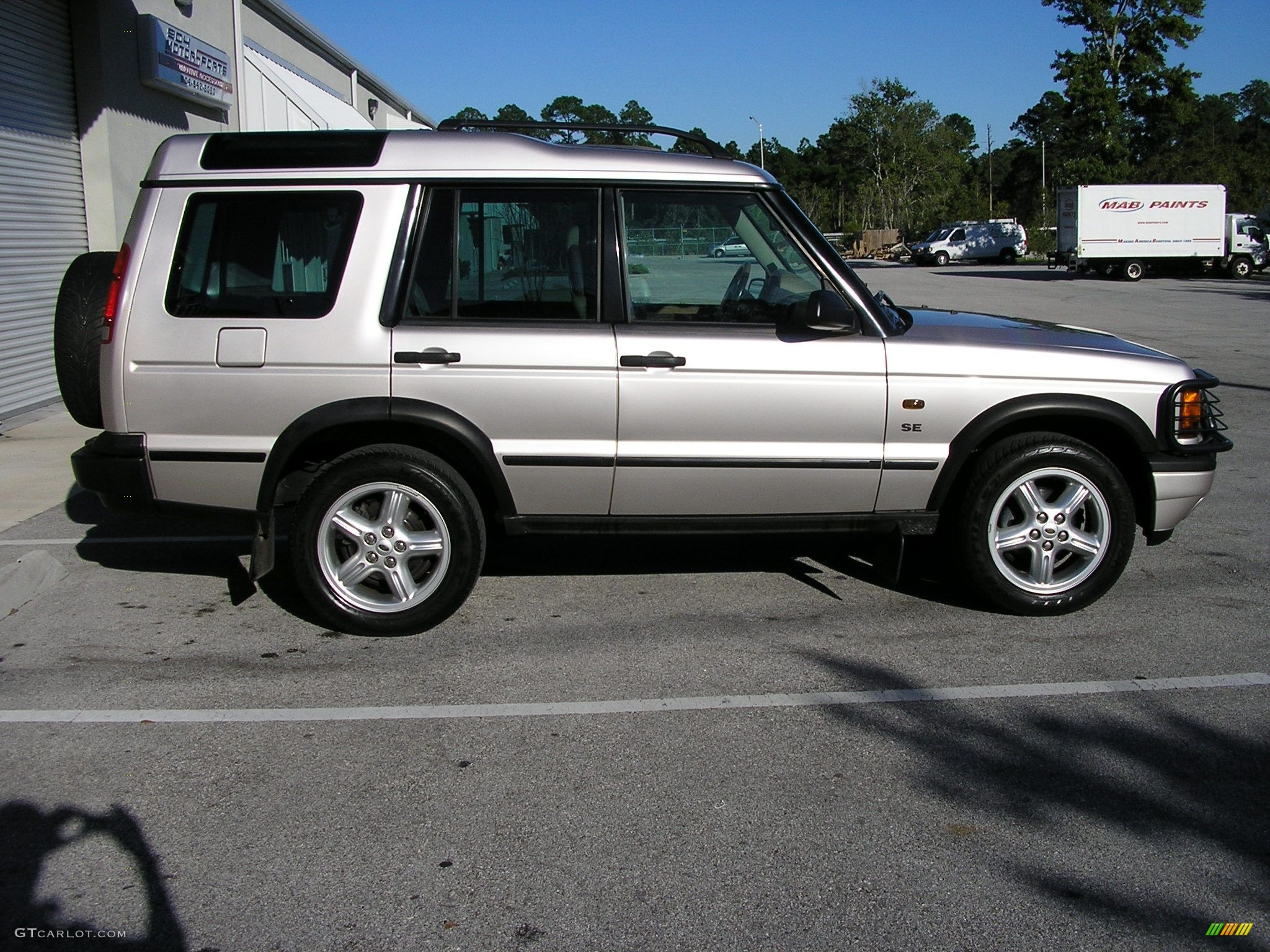 2001 white gold pearl metallic land rover discovery ii se 41524 photo 3 car. Black Bedroom Furniture Sets. Home Design Ideas