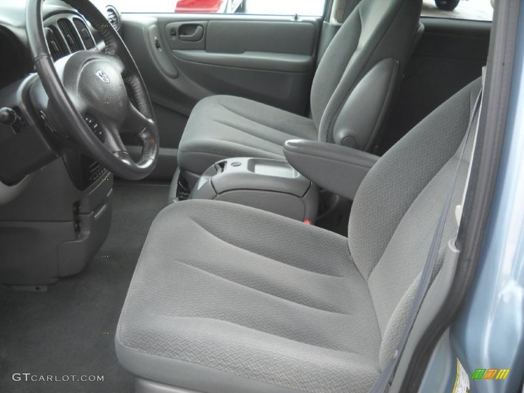 Medium Slate Gray Interior 2005 Dodge Grand Caravan Sxt