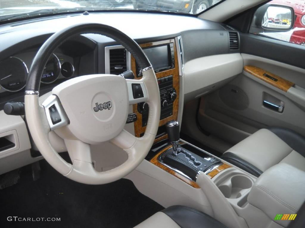 Dark khaki light graystone interior 2008 jeep grand - 2010 jeep grand cherokee interior ...