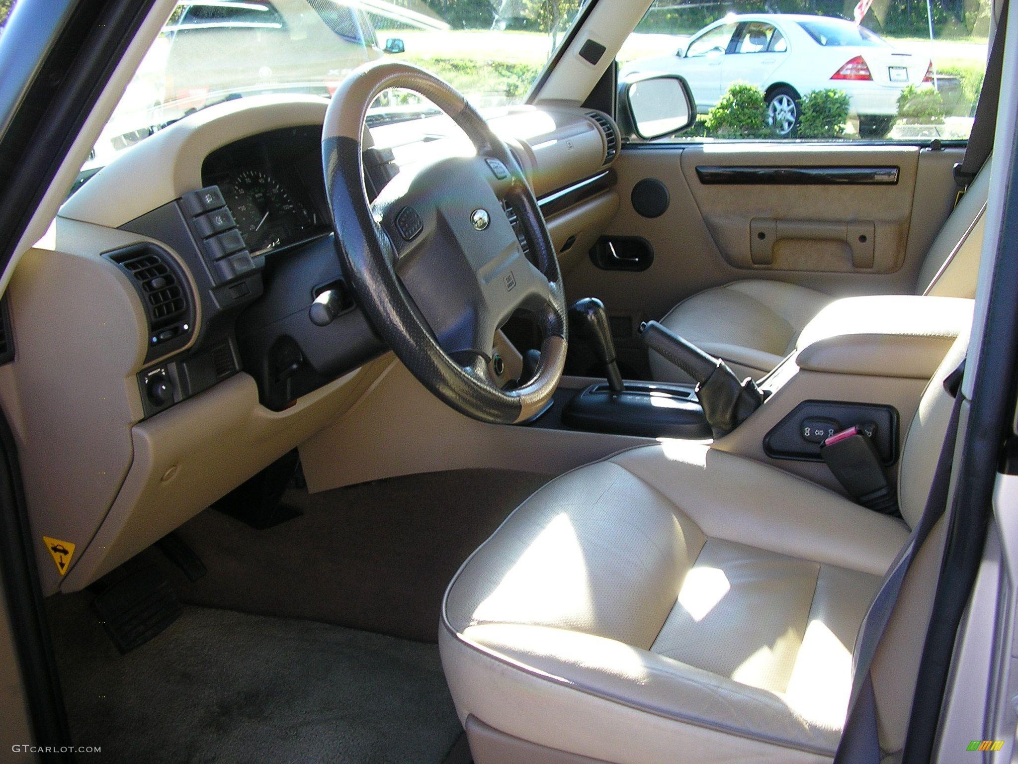 2001 White Gold Pearl Metallic Land Rover Discovery Ii Se 41524 Photo 5 Car