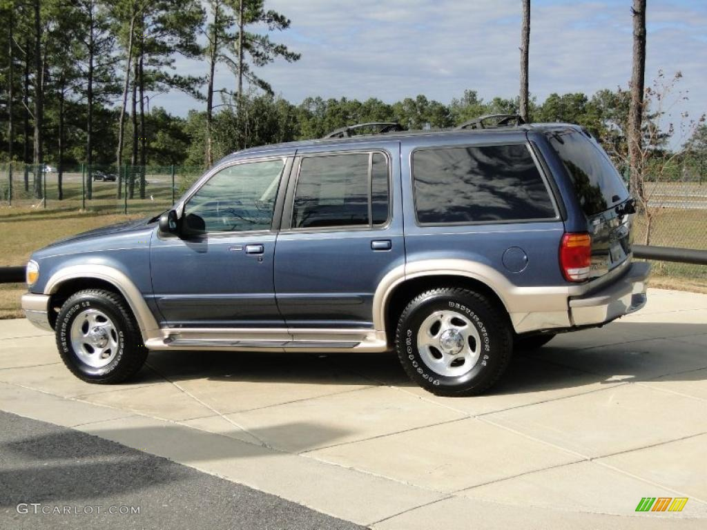 Medium Wedgewood Blue Metallic 1999 Ford Explorer Eddie