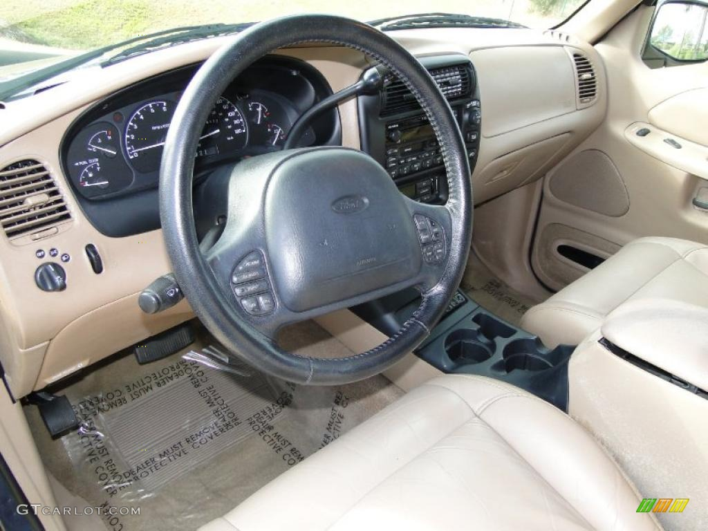 Medium Prairie Tan Interior 1999 Ford Explorer Eddie Bauer Photo 41559839