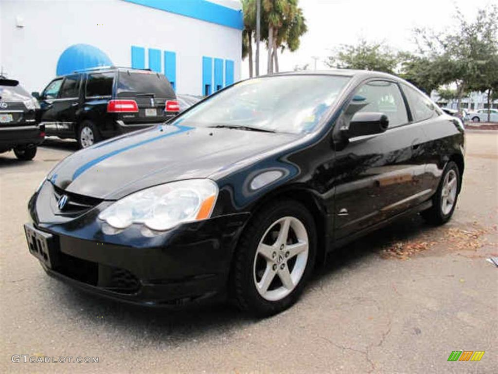 Nighthawk Black Pearl 2003 Acura RSX Sports Coupe Exterior ...