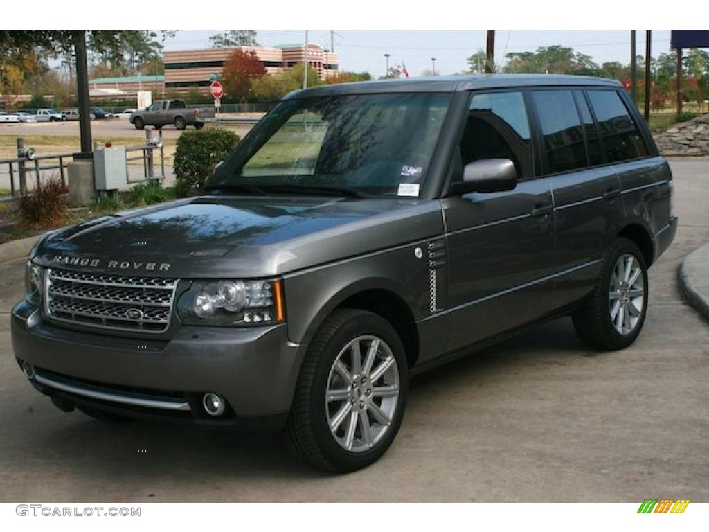 stornoway grey metallic 2011 land rover range rover. Black Bedroom Furniture Sets. Home Design Ideas