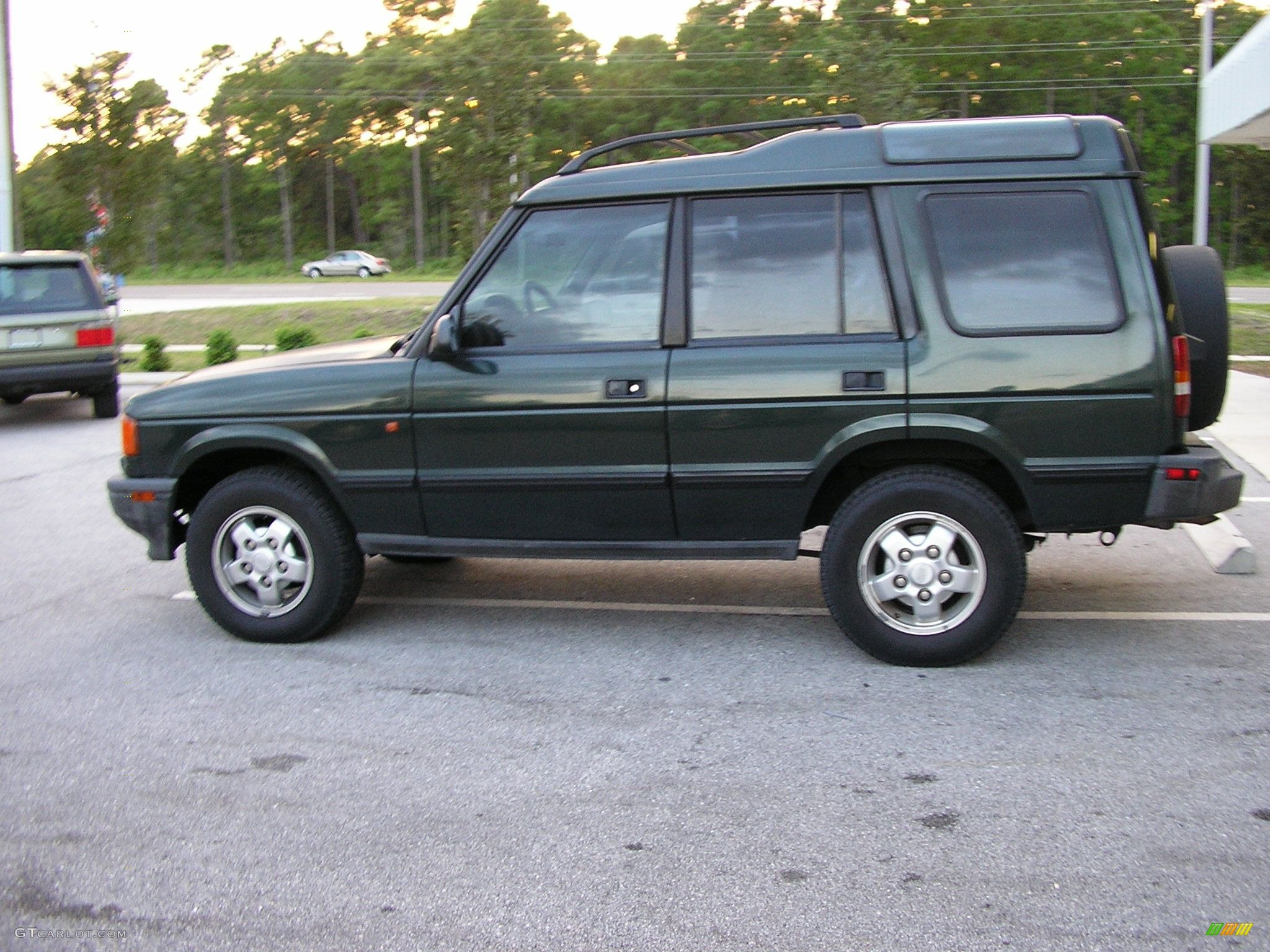 1996 Avalon Blue Pearl Land Rover Discovery Sd 41563