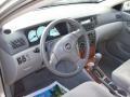 2004 Corolla LE Light Gray Interior