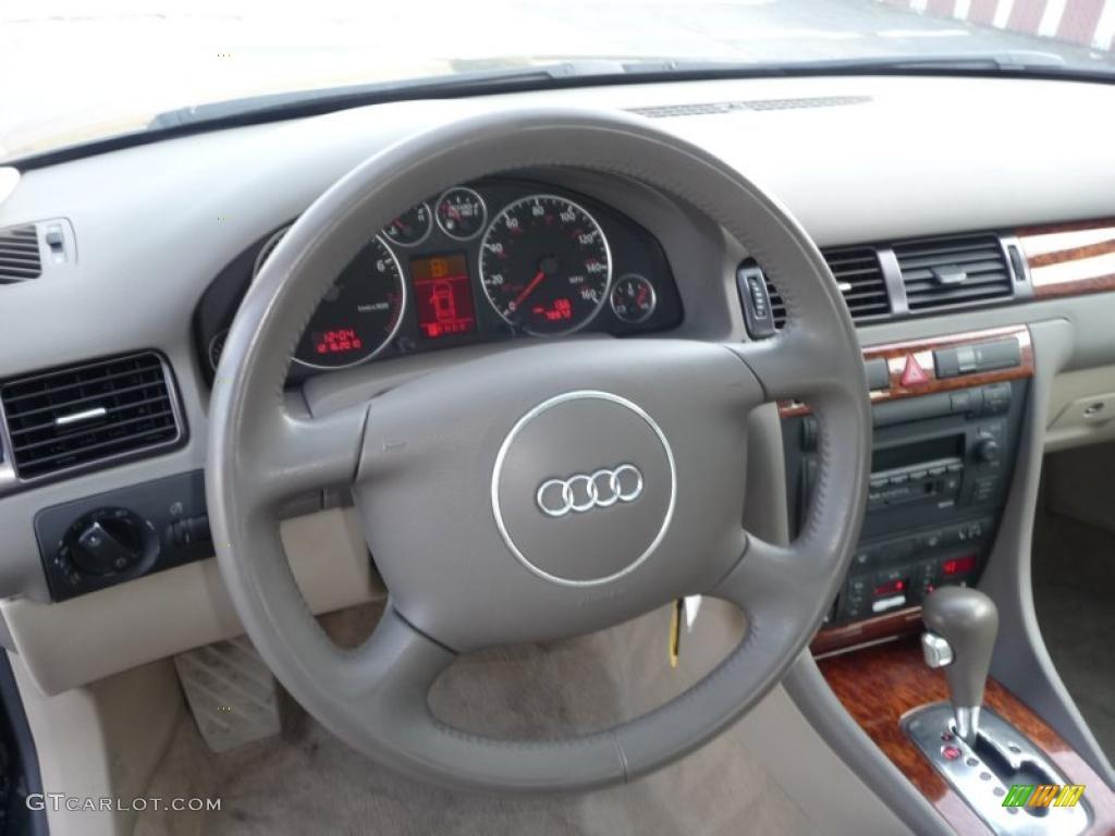 2002 audi a6 3 0 quattro sedan beige steering wheel photo 41578831. Black Bedroom Furniture Sets. Home Design Ideas