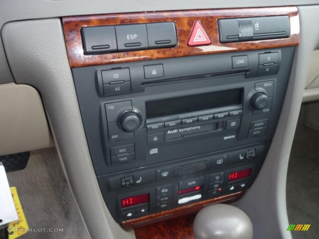 2002 audi a6 3 0 quattro sedan controls photos. Black Bedroom Furniture Sets. Home Design Ideas