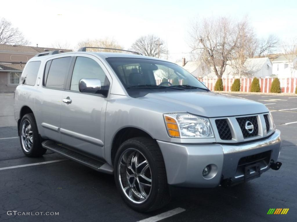 Silver lightning metallic 2004 nissan armada le 4x4 exterior photo silver lightning metallic 2004 nissan armada le 4x4 exterior photo 41580103 vanachro Images