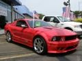 2007 Torch Red Ford Mustang Saleen S281 Supercharged Coupe  photo #2