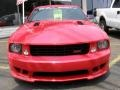2007 Torch Red Ford Mustang Saleen S281 Supercharged Coupe  photo #3