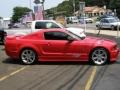 2007 Torch Red Ford Mustang Saleen S281 Supercharged Coupe  photo #7