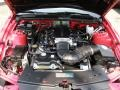 2007 Torch Red Ford Mustang Saleen S281 Supercharged Coupe  photo #23