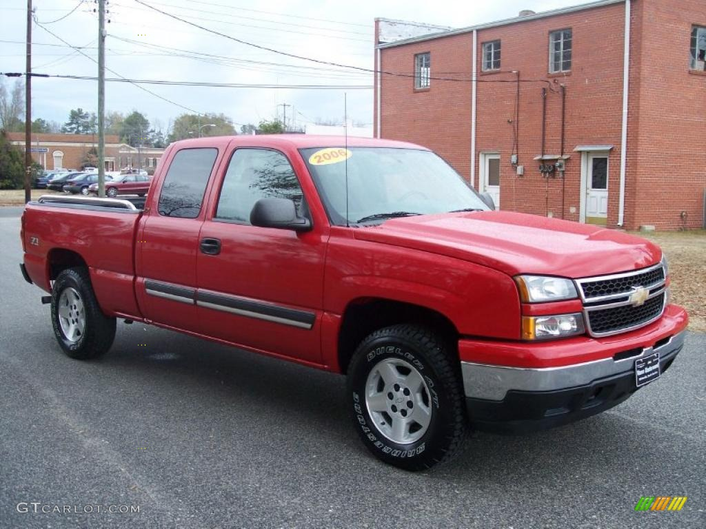 2006 chevrolet silverado 1500 lt extended cab 4x4 exterior photos. Black Bedroom Furniture Sets. Home Design Ideas