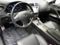 Black Interior Photo for 2008 Lexus IS #41592455