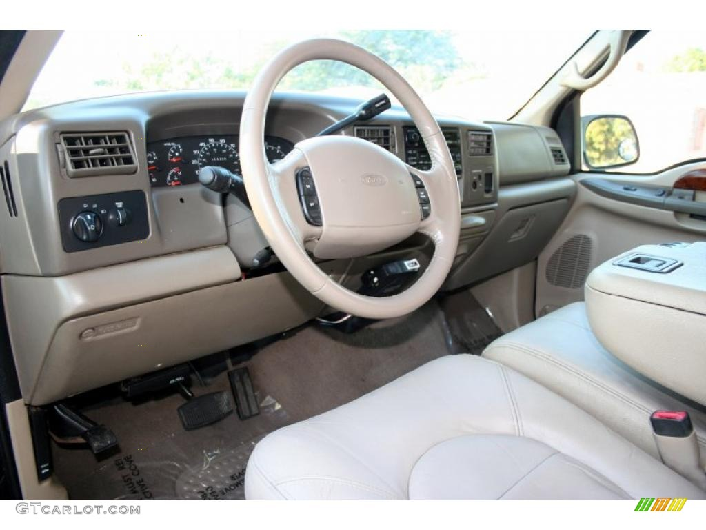 2000 Ford F350 Super Duty Lariat Extended Cab 4x4 Interior Color Photos