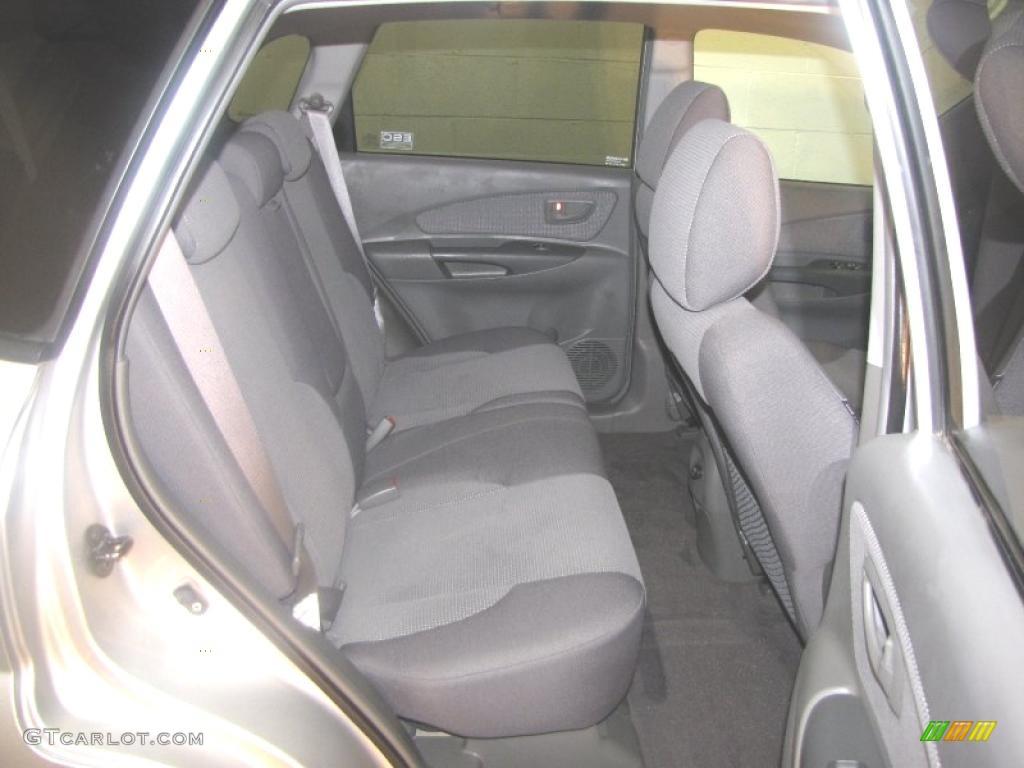 Gray Interior 2006 Hyundai Tucson Gl Photo 41607429