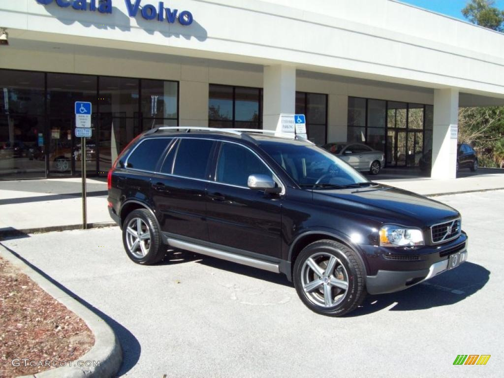 black sapphire metallic 2009 volvo xc90 3 2 r design exterior photo 41608561. Black Bedroom Furniture Sets. Home Design Ideas