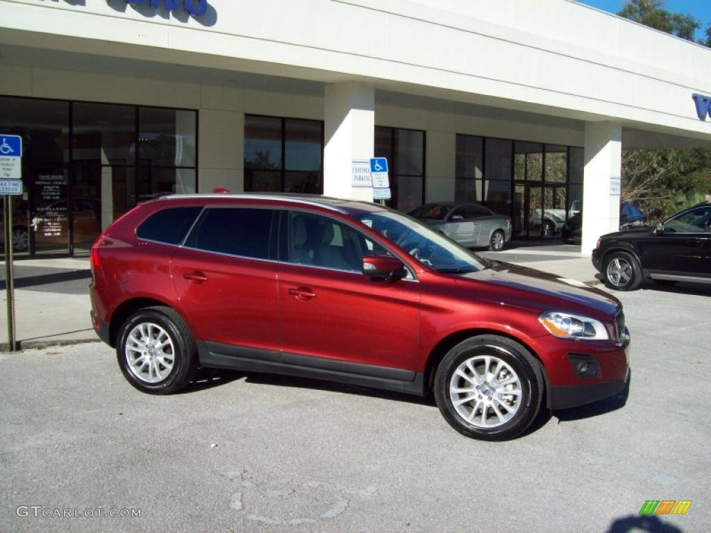 maple red metallic 2010 volvo xc60 t6 awd exterior photo. Black Bedroom Furniture Sets. Home Design Ideas