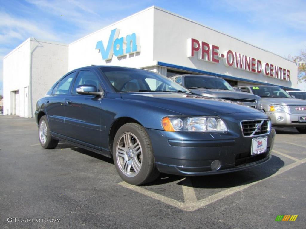 2008 barents blue metallic volvo s60 2 5t 41534487. Black Bedroom Furniture Sets. Home Design Ideas