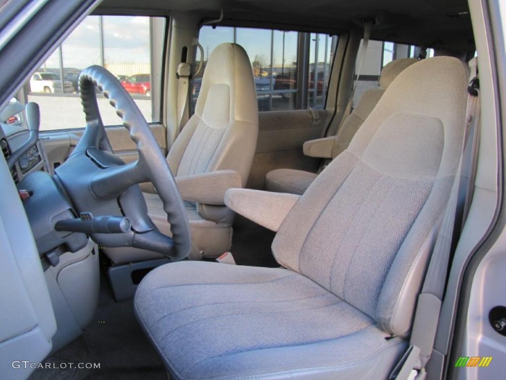 Medium Gray Interior 2000 Chevrolet Astro LS AWD Passenger Van Photo #41618057
